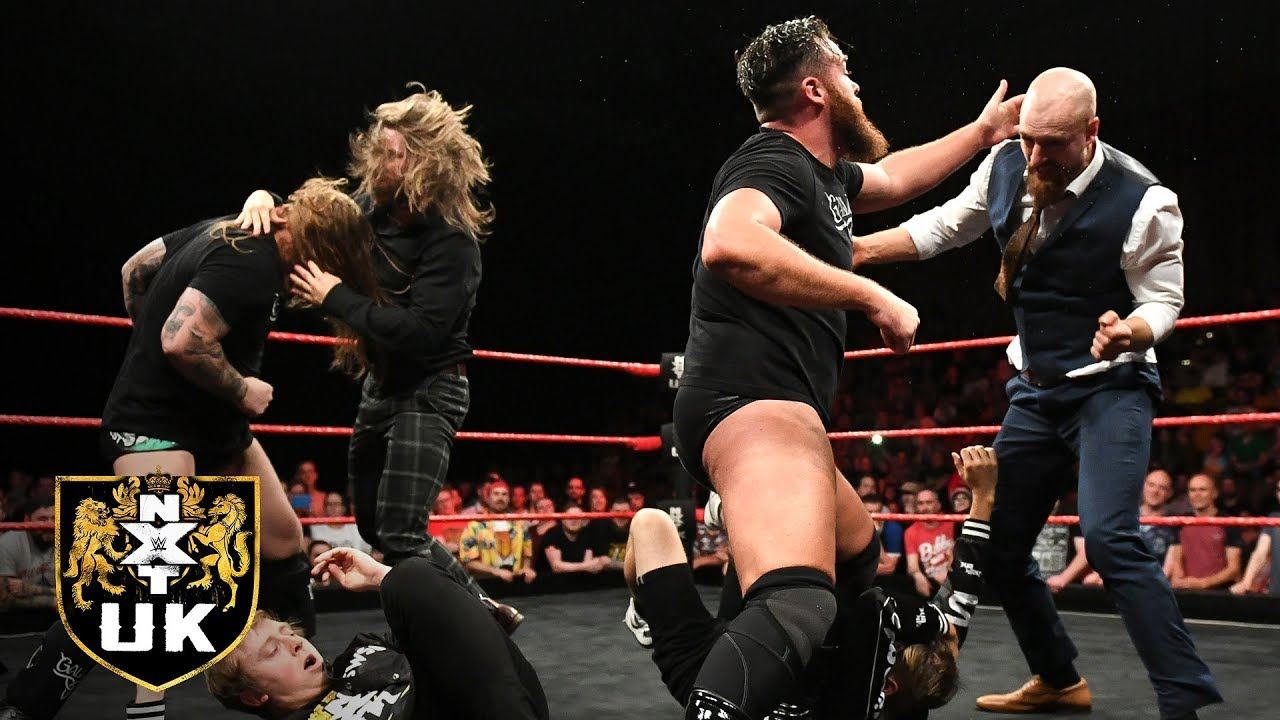 Brawl erupts prior to TakeOver's NXT UK Tag Team Title Match: NXT UK highlights, 8-28-19