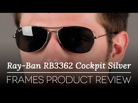 f959290984 Ray Ban RB3362 Cockpit Silver Sunglasses Review - YouTube