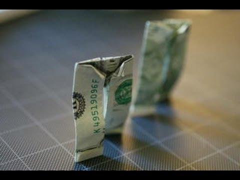 Ongekend Dollar Origami Pants! - YouTube KQ-89