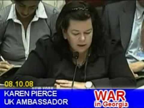 UN Security Council on Russian-Georgian War