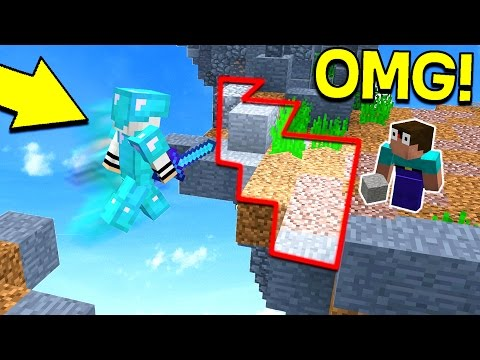 HACKER VS. INVISIBLE WALL TRAP! (Minecraft Trolling)