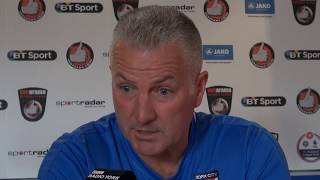 Harrogate Town pre-match press conference
