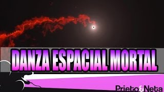 DANZA ESPACIAL MORTAL ENTRE AGUJERO NEGRO Y NUBE DE GAS (VIDEO)