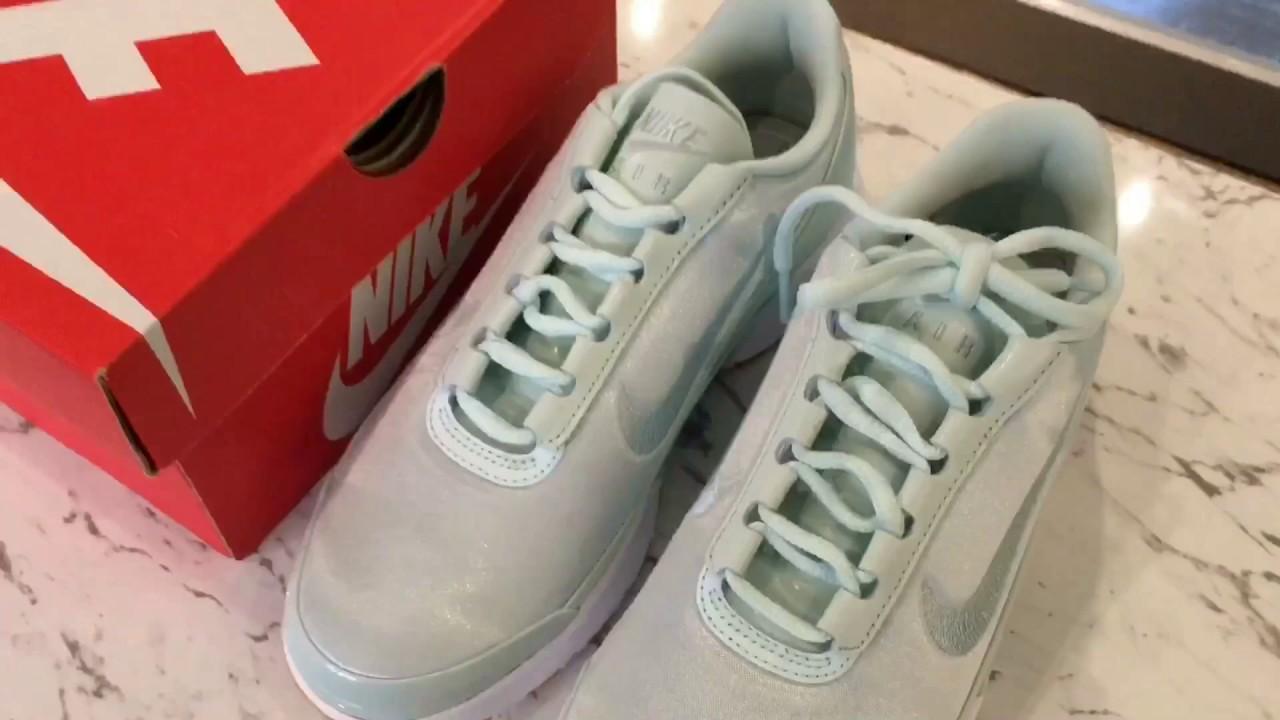 夏日裡的小清新球鞋!緞面、刺繡、粉嫩色…集各種夢幻元素於一身的Nike Air Max Jewell開箱 9dcdaee97
