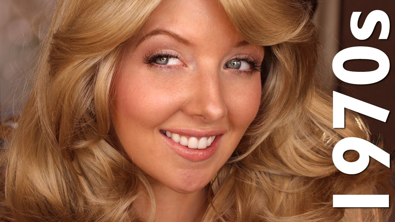 Historically Accurate 1970s Makeup (Farrah Fawcett Inspired) - YouTube