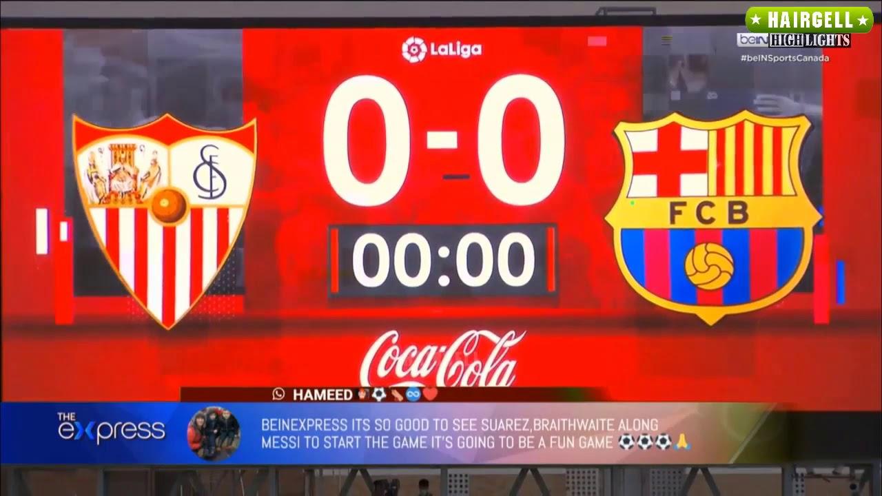 Sevilla 0 vs Barcelona 0 19/06/2020 Highlight (Laliga ...