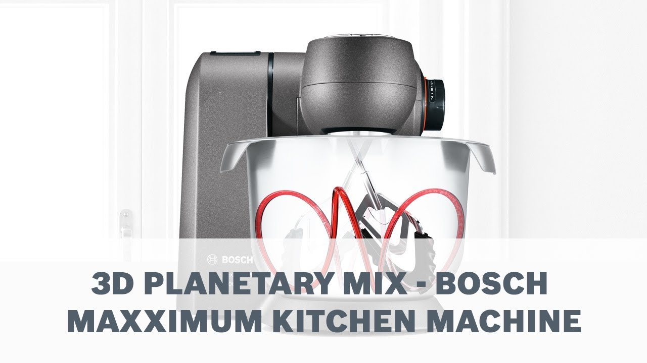 Bosch Maxximum 3d Planetary Mix Youtube