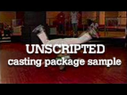unscripted casting package sample