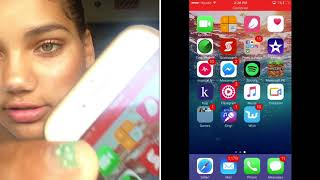 How to record your phone screen ! 2017-2018 | Aimie Neish