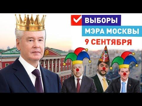 Выборы мэра Москвы 2018 больше похожи на клоунаду.