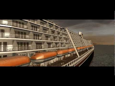 M.S. Poseidon for Virtual Sailor - Film Scene Re-Creation