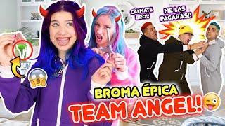BROMA ÉPICA AL TEAM ANGEL!!! ME ROMPÍ LA LENGUA POR ACCIDENTE!!😭😈!! | Leyla Star 💫