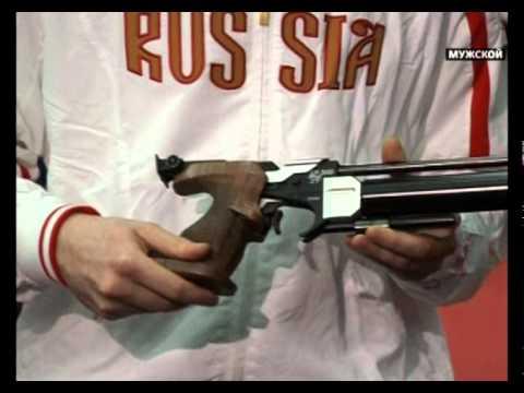 Спортивный пневматический пистолет. Оружие 12