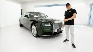 ADDING THE 2021 ROLLS ROYCE GHOST TO MY COLLECTION! || Manny Khoshbin