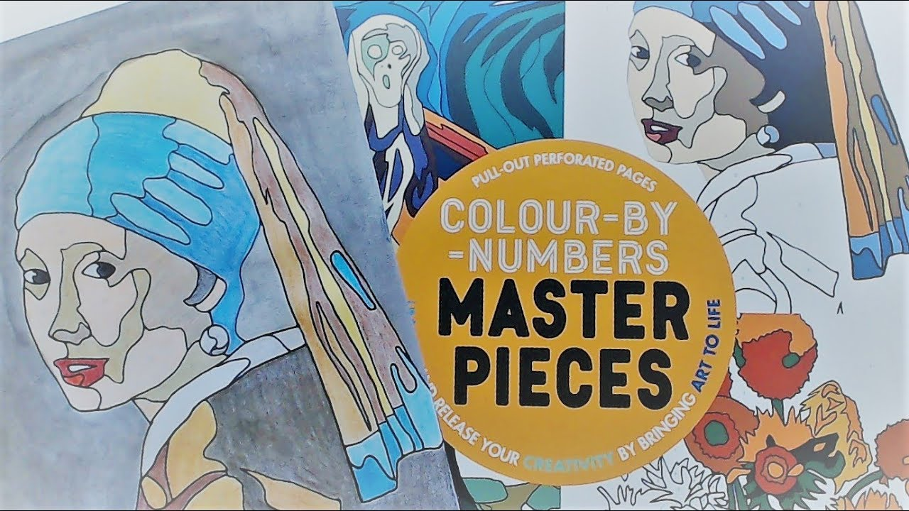 Girl with Pearl Earring - Vermeer - Colour by Numbers - Masterpieces ...