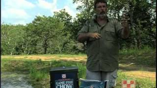 Feeding and Growing Bigger Better Bluegill in Your Pond