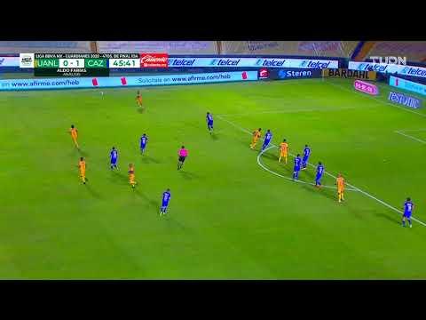 Gol de G. Pizarro | Tigres1 - 1 Cruz Azul | Liga MX - Guardianes 2020 Apertura  | LIGA BBVA MX