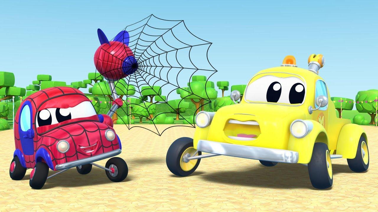 BABY AUTO will SPIDERMAN werden  | InvenTom der Abschleppwagen | Car City World App