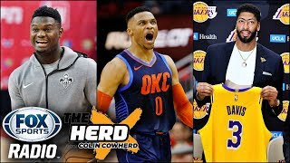 Colin Cowherd on Anthony Davis and Can Russell Westbrook Change his Game?