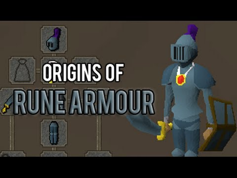 Origins Of The Rune Armour Runescape History Youtube
