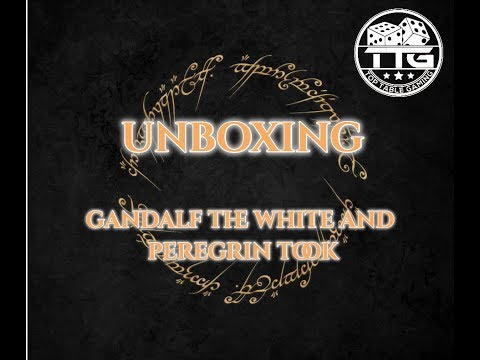 Middle Earth SBG Unboxing - Gandalf the white and Peregrin Took