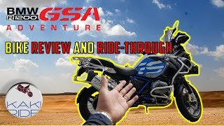 BMW R1200 GS ADVENTURE BIKE REVIEW AND RIDING [ENGLISH SUBTITLES]