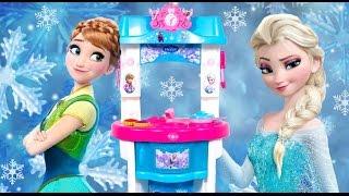 Video Giant Frozen Kitchen Toy Smoby Cutting Frozen Food Toys 겨울왕국부엌 Cuisine Küche кухня Cocinita Funtoys download MP3, 3GP, MP4, WEBM, AVI, FLV Maret 2018