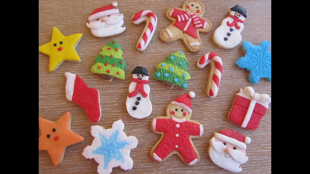 Come decorare dei biscotti di natale natalizi con pasta for Appartamenti decorati per natale