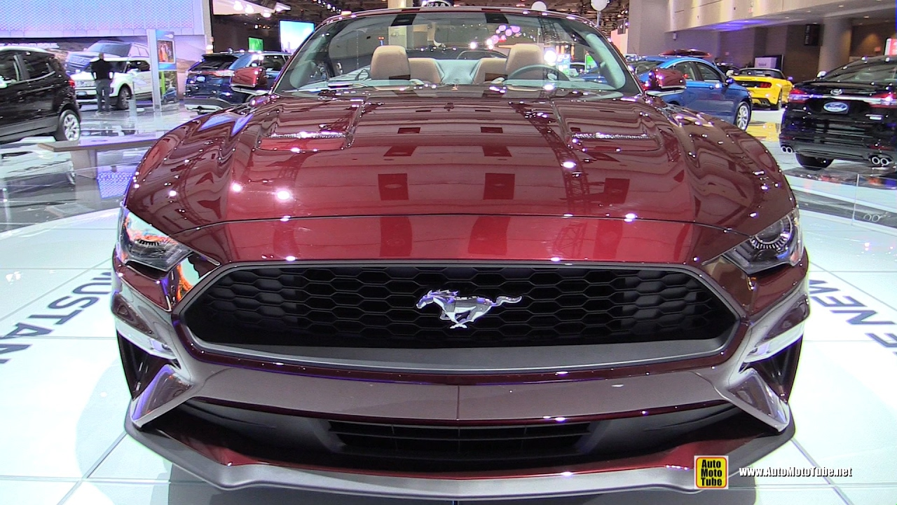 2017 Mustang Colors >> 2018 Ford Mustang - Exterior Walkaround - 2017 Toronto Auto Show - YouTube