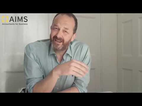 AIMS Accountant Andy Smith talks about his experiences with AIMS