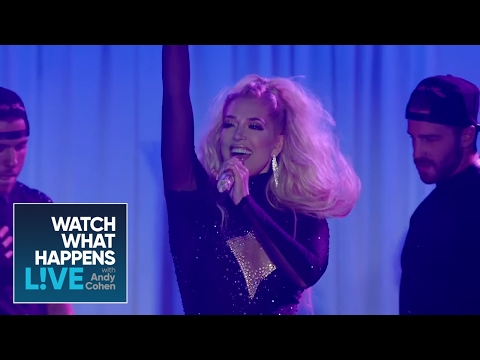 Erika Jayne Performs 'Pretty Mess' at The Bravos! | WWHL