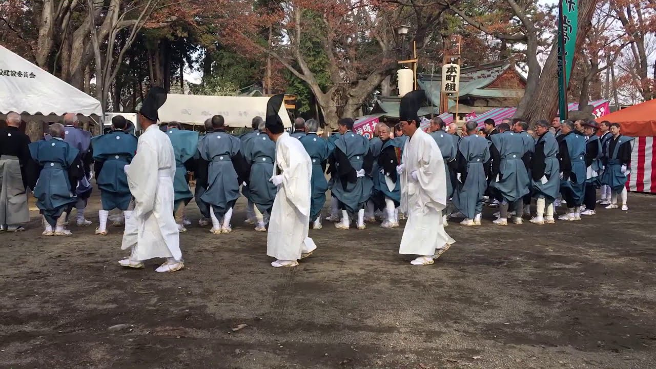 2019年大頭祭 武水別神社 千曲市 daito festival Ontake Mizuwake chikuma Nagano Japan