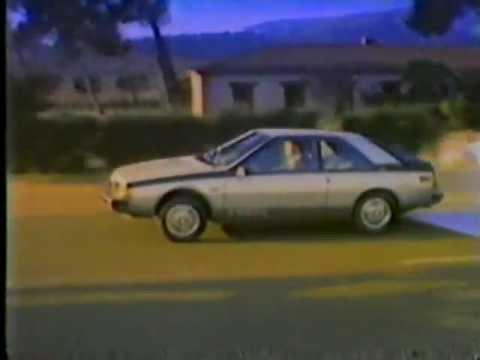 1983 renault fuego turbo commercial youtube. Black Bedroom Furniture Sets. Home Design Ideas