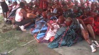 27 Dec 2013 Sterkspruit Basotho Initiates - Tsa Ntate Mohlomi Day 1 Part 3