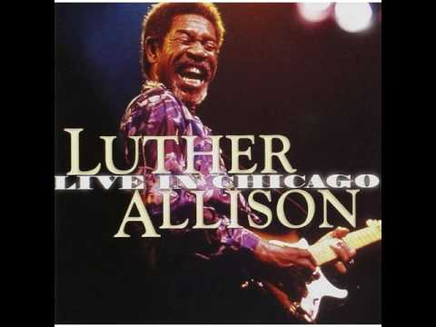Luther Allison  Cherry Red Wine