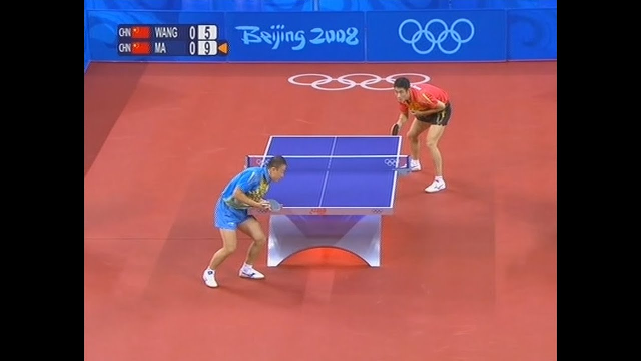 Table Tennis Rules - White Lines, Edges and Sides     are