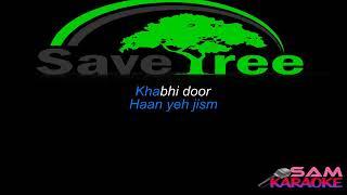 Kuch Is Tarha Atif Karaoke sam karaoke cover
