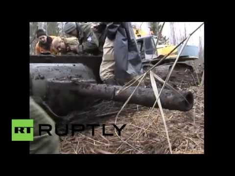 Belarus: Soviet WW2 tank discovered after 74 years underground