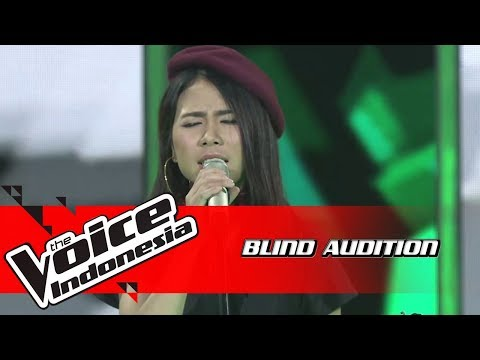 Ingrid - Paris In The Rain | Blind Auditions | The Voice Indonesia GTV 2018