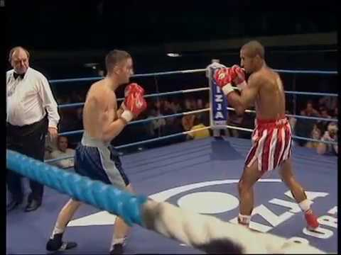 Michael Alldis vs David Jeffrey 29.6.1999 - British Masters Super Bantamweight title (1st Rd KO)