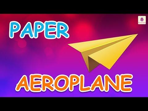 Origami Aeroplane | DIY Paper Aeroplane For Kids | Periwinkle