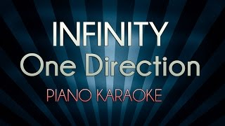 Infinity - One Direction | Official Piano Karaoke Instrumental Lyrics Cover Sing Along