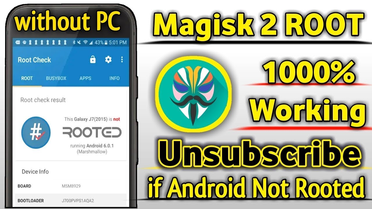 2019 New MAGISK 2 Root Any Android Device 1000% Working | Unsubscribe if  Your Android Not Rooted