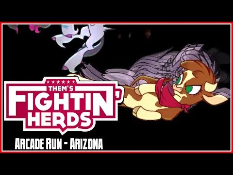 Them's Fightin' Herds Arcade Run - Arizona