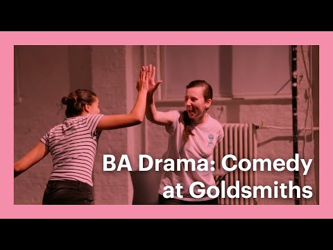 New Goldsmiths Courses - BA Drama: Comedy