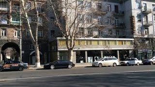 Yerevan, 26 03 17, Video 2, (на рус ),  На проспекте Маштоца, ул Хоренаци