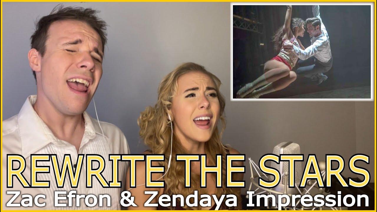 Rewrite The Stars (NO AUTOTUNE) - Black Gryph0n & Zanna Cover