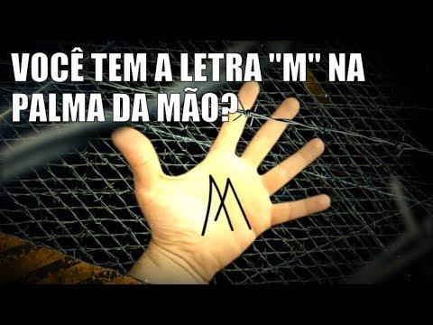 OS PODERES DE QUEM TEM A LETRA M NA PALMA DA MÃO!