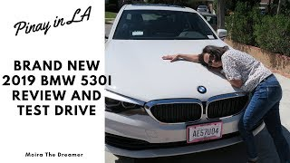 WOW Brand New BMW 530i Review and Test Drive | Pinay in LA