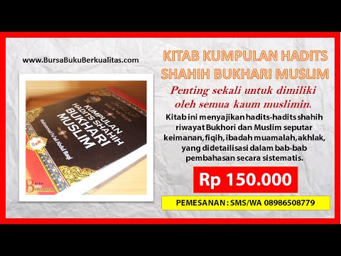 Wa 0898 6508 779 Jual Kitab Kumpulan Hadits Shahih Bukhari